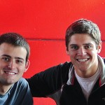 Kevin Silverman '15 BA in Sociology and Charlie Kern '15 BBA in Finance w/Accounting