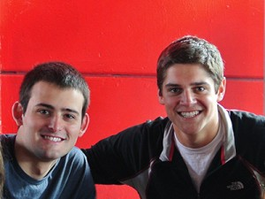 Kevin Silverman (L) '15 BA in Sociology and </br>Charlie Kern (R) '15 BBA in Finance w/Accounting
